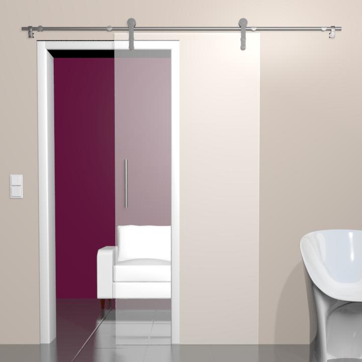 glas schiebet r bari satinato. Black Bedroom Furniture Sets. Home Design Ideas