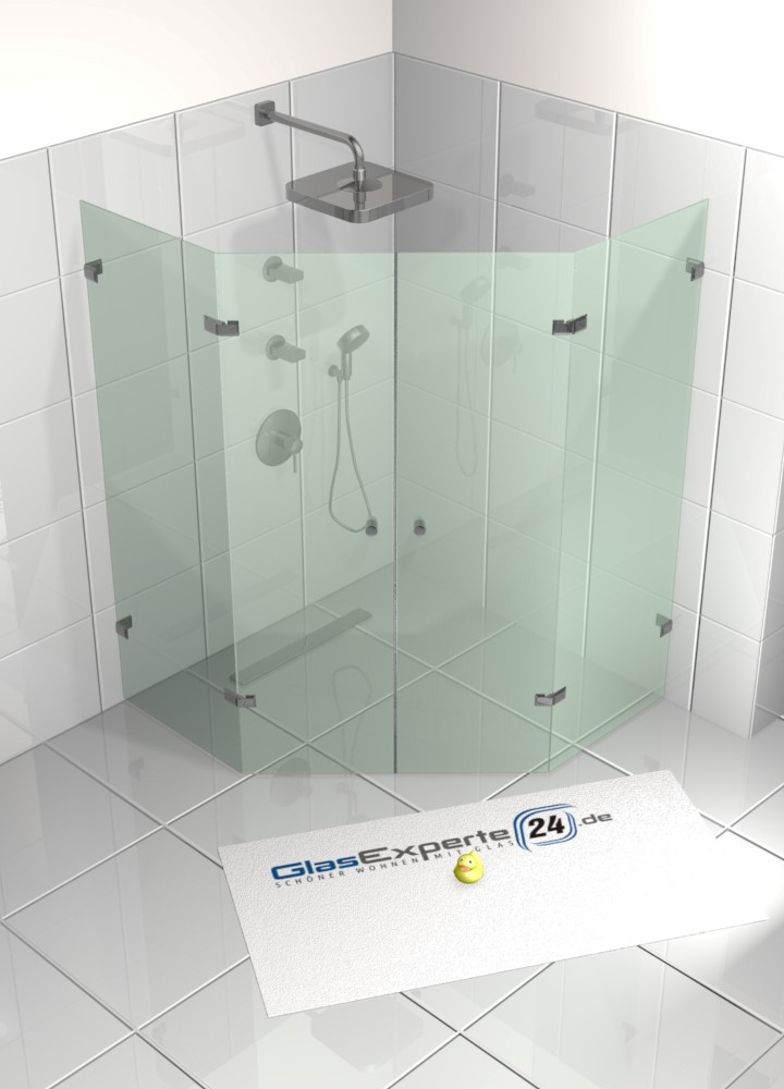 Fünfeck Dusche