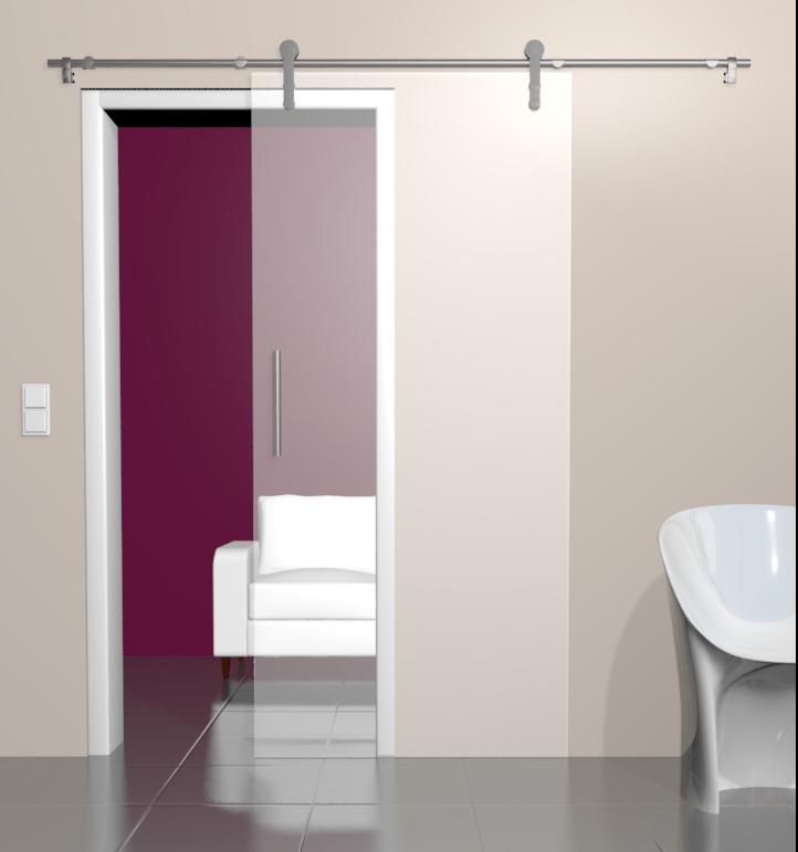 glasschiebet ren schiebet ren aus glas online kaufen. Black Bedroom Furniture Sets. Home Design Ideas